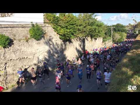 Bermuda Marathon 10K Start And Finish Line