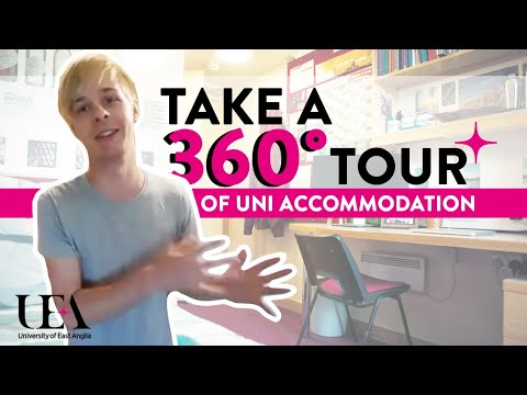 En Suite Campus 360° Student Accommodation Tour   | University of East Anglia (UEA)