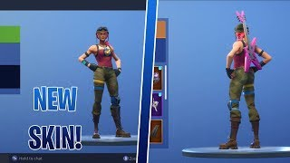 NEW BULLSEYE SKIN SHOWCASE | SHOWCASED WITH OVER 50 BACK BLINGS | FORTNITE BEFORE YOU BUY!