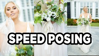 Can You BEAT My Time? | How to Pose a Bride FAST