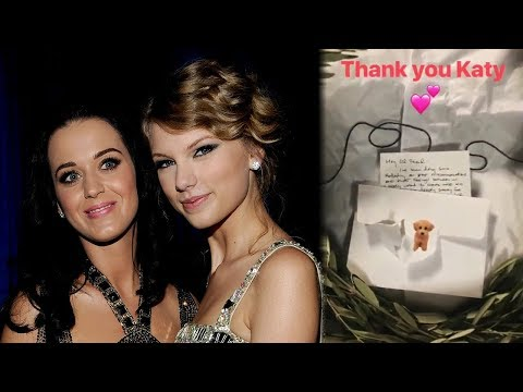 Katy Perry Sends Taylor Swift PEACE OFFERING & Ends Feud