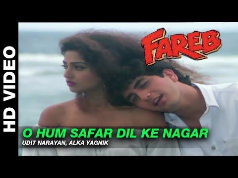 O Hum Safar Dil Ke Nagar  Fareb  Udit Narayan & Alka Yagnik  Faraaz Khan & Suman Ranganathan