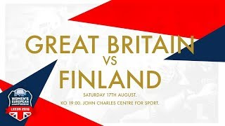 IFAF WOMEN'S EUROPEAN CHAMPIONSHIPS 2019 - Great Britain vs Finland
