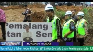 Butuh 3 Tahun Jokowi Kalahkan SBY