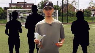 the most impossible youtuber football challenges