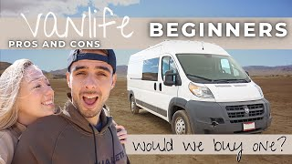 Vanlife - Pros And Cons | Surviving Our First Van Life Experience