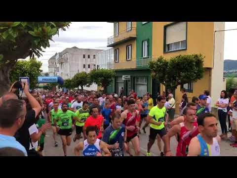 Más de 700 corredores participan en el Run Foz Run