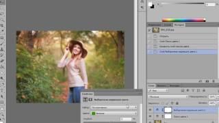 Тонирование фотографии  3DLUT корректирующий слой Поиск цвета