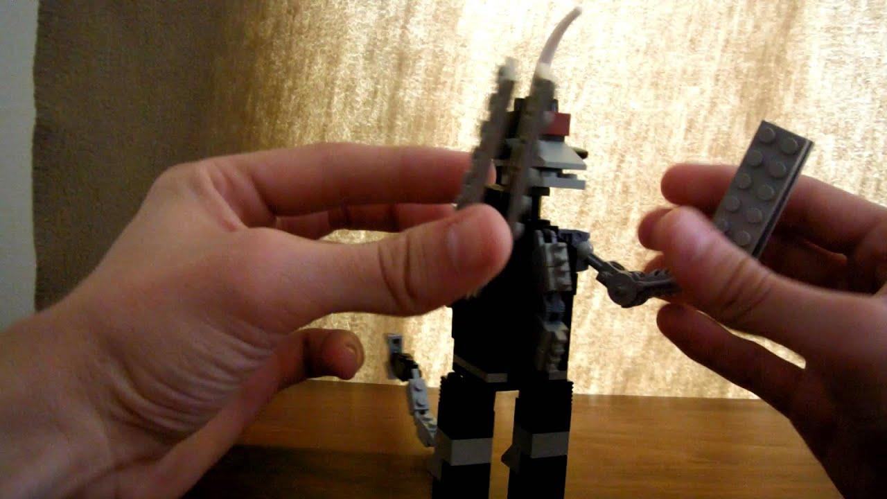 Lego Creation Chainsaw Gigan Youtube