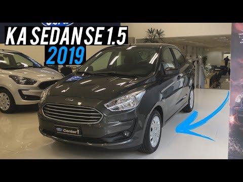 Avaliação | Novo Ford Ka Sedan SE 1.5 Automático 2019 | Curiosidade Automotiva®
