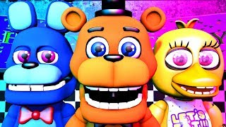 Five Nights at Freddy s Song FNAF World SFM 4K TIFWhitney Remix