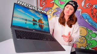 2020 LG gram 17 Review - Under 3 lbs!