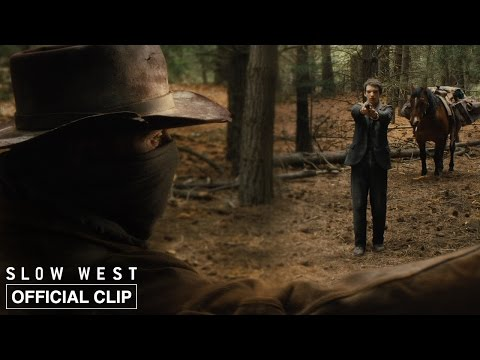 Slow West | Jay Meets Silas | Official Movie Clip HD | A24