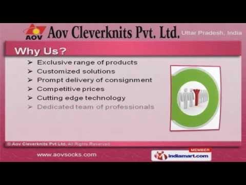 Men Plain And HT Socks by Aov Cleverknits Pvt Ltd, Noida