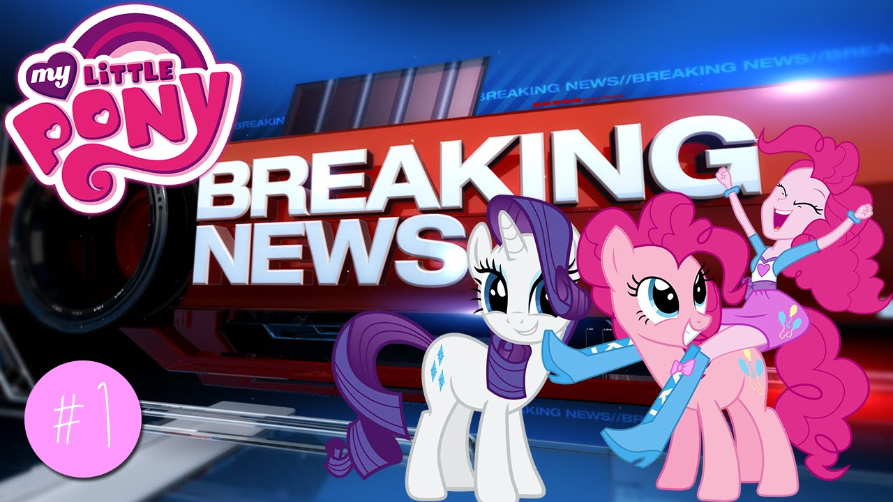 my little pony equestria news pinkie pie reports on a robbery youtube
