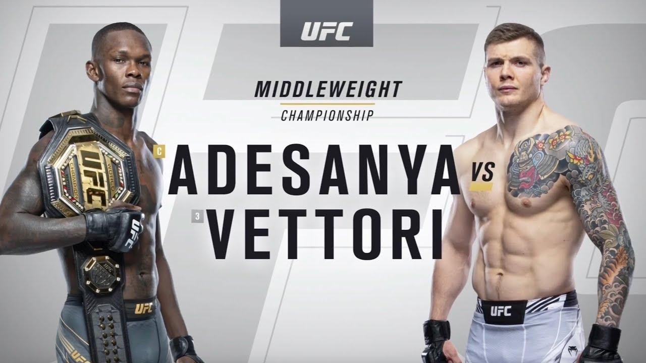UFC 263: Israel Adesanya vs Marvin Vettori Highlights