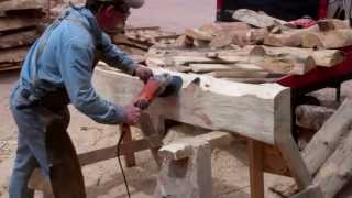 Colorado Wildfire Mantels By Mitchell Dillman And Colorado Rock*n Logs