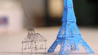3Doodler -- Der erste 3D Druck-Stift der Welt!
