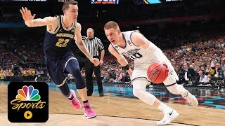 Moser: Villanova\'s offense extremely unselfish I College Basketball I NBC Sports