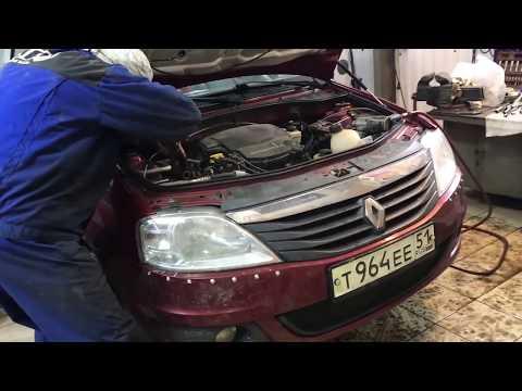 Renault Logan – замена сцепления
