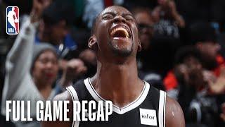 SPURS  vs NETS   D'Angelo Russell & Caris LeVert Lead Brooklyn   February 25, 2019