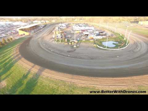 Viking Speedway 5-6-17 Drone Clips