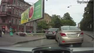Women Driving Fail Compilation  2012-2013  Подборка девушек за рулем
