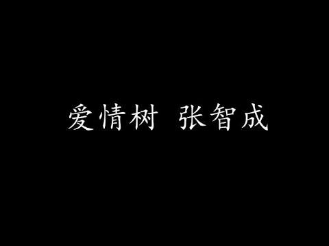 愛情樹 張智成 (歌詞版) - YouTube
