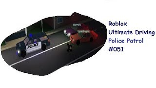Roblox: Ultimate Driving | Police Patrol #051 | Elsa will nicht Stoppen | [Huski/German]