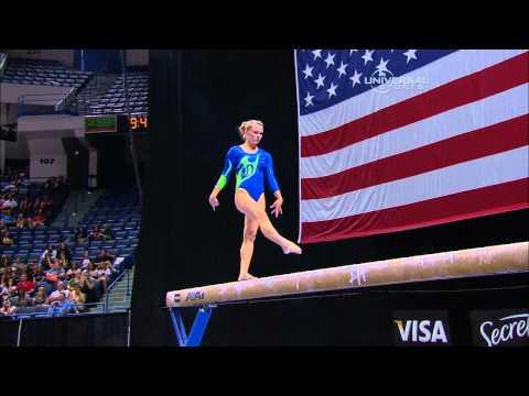 Bridget Sloan - Balance Beam - 2010 Visa Championships - Women - Day 1
