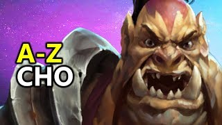 ♥ A - Z CHO - Heroes of the Storm (HotS Gameplay)