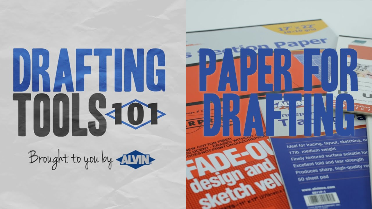 Vellum Drafting Paper, Drawing & Tracing Papers, Mylar Film