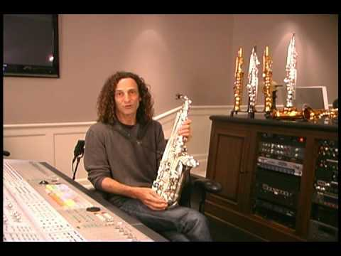 Kenny G alto saxophone features