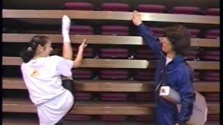 1994年07月 Yukari Kawamoto Rhythmic gymnastics.
