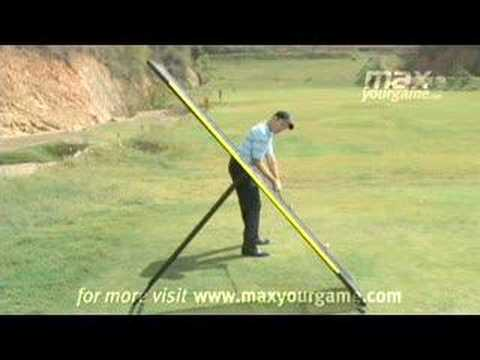 Golf Explanation Of Swing Plane Youtube