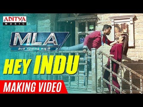 Hey Indu Making Video    MLA Movie Songs    Nandamuri Kalyanram, Kajal Aggarwal    Mani Sharma