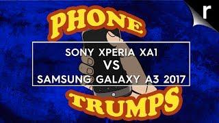 Samsung Galaxy A3 2017 vs Sony Xperia XA1: Phone Trumps Episode 15
