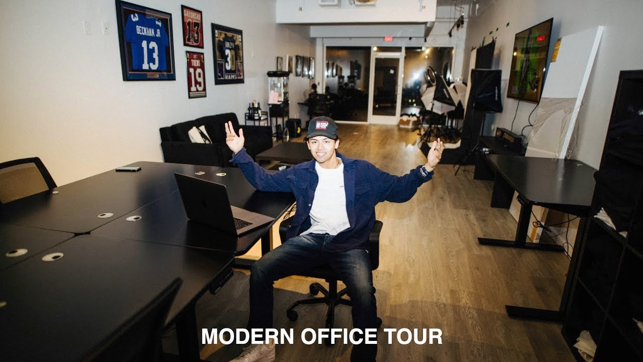 MY NEW MODERN OFFICE TOUR!! (1340 Collective Office Space)