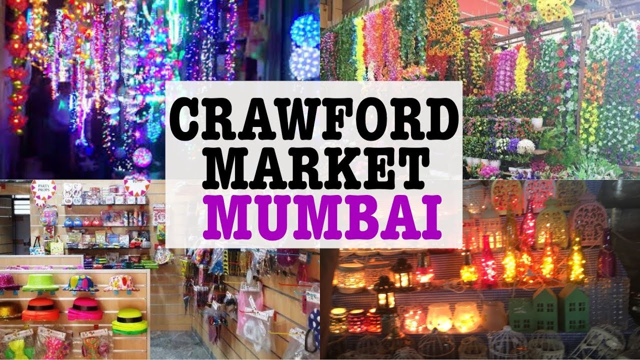 Crawford Market Budget Shopping Wholesale Market In Mumbai