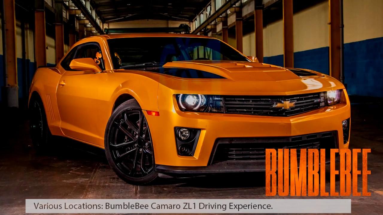 Bumblebee Camaro Zl1 1le