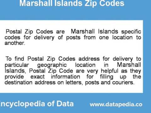 About Marshall Islands Postal Zip Code Finder