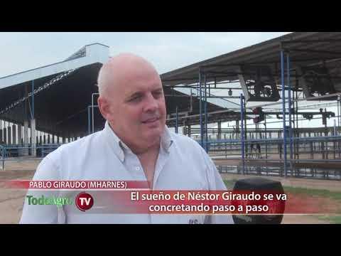 El sueño de Néstor Giraudo se concreta paso a paso