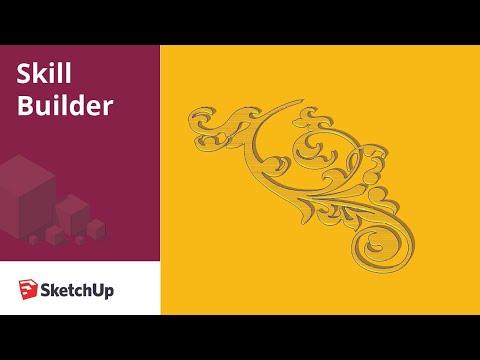 Bezier Filigree - Skill Builder