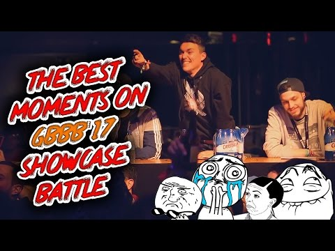 The Best Moments on Grand BeatBox Battle 2017 (ShowCase Battle)