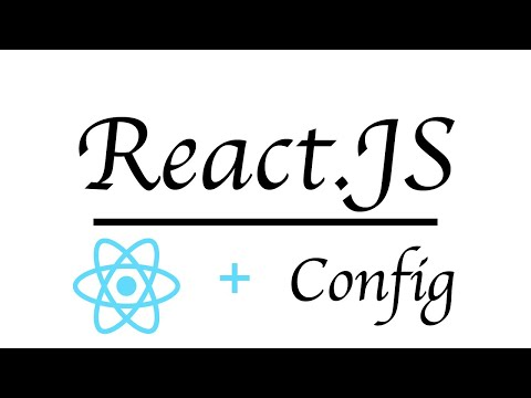 React: Configuration With .env File | Beginner Tutorial 2019