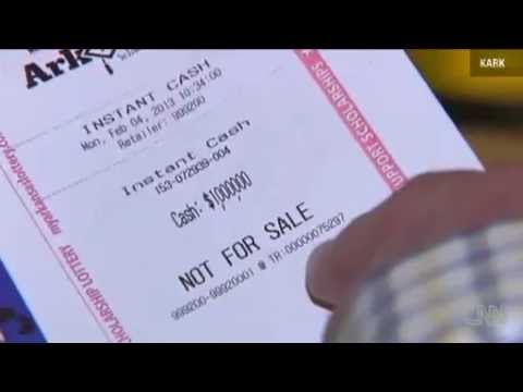 Arkansas Lottery Play It Again Tickets