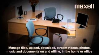 Maxell Portable Wireless Hard Drive