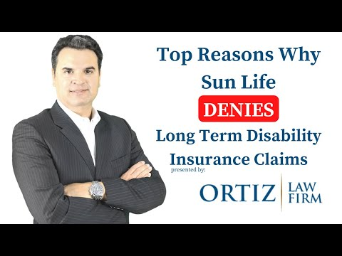 Top Reasons Why Sun Life Insurance Company Denies LTD Claims
