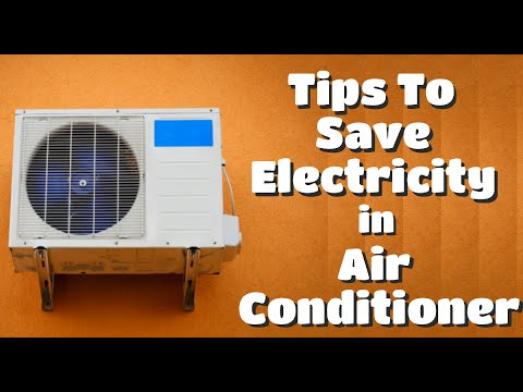 Tips To Reduce Electricity Consumption Of An Air