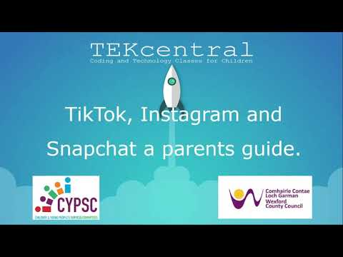 TikTok, Instagram and Snapchat for Parents